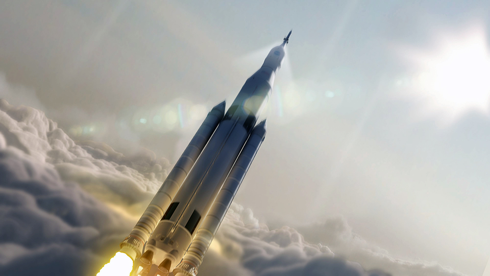 Проект космической ракеты