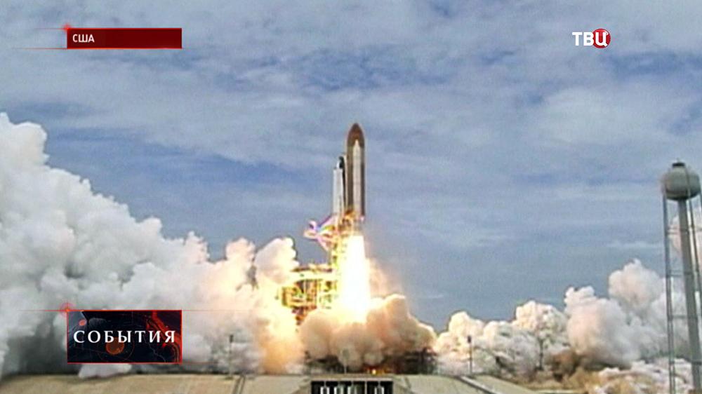 Старт многоразового космического корабля Шаттл