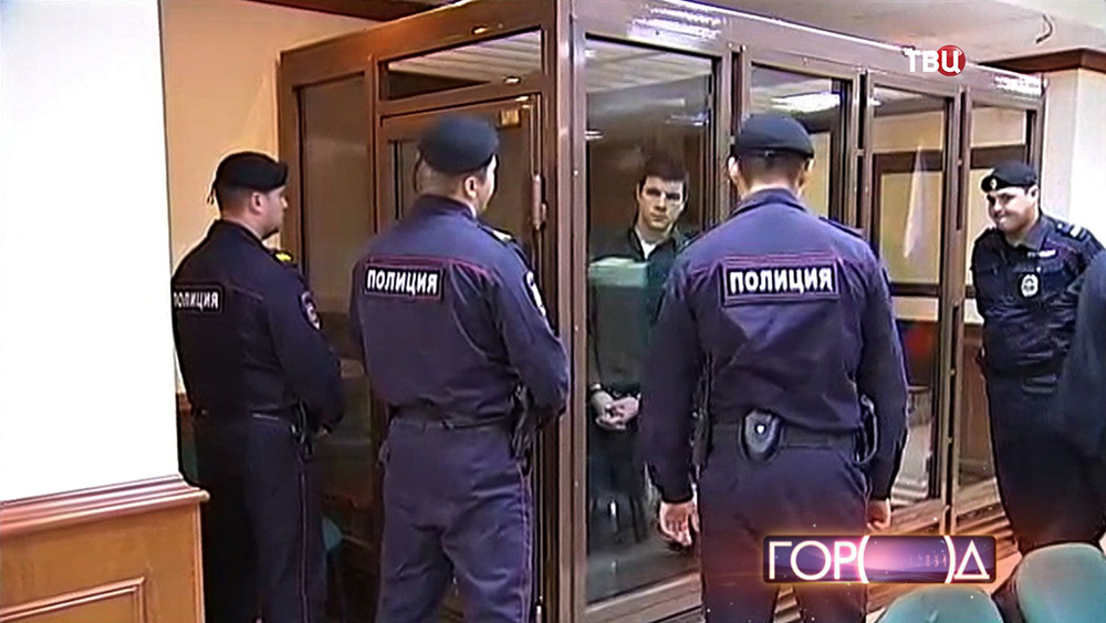 Суд над лидером экстремистской организации Никитой Тихоновым