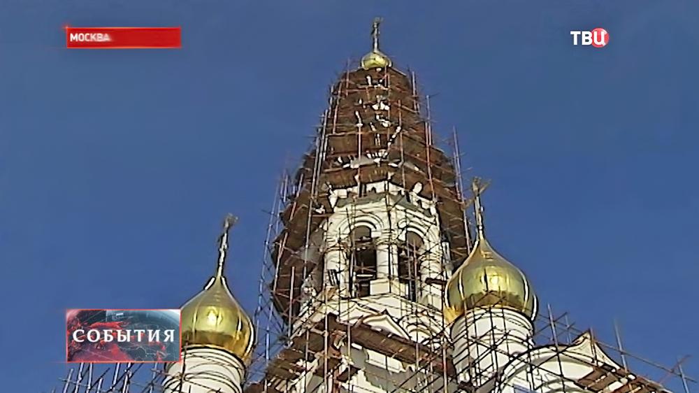 Cтроительство храма в честь Иверской иконы Божьей матери