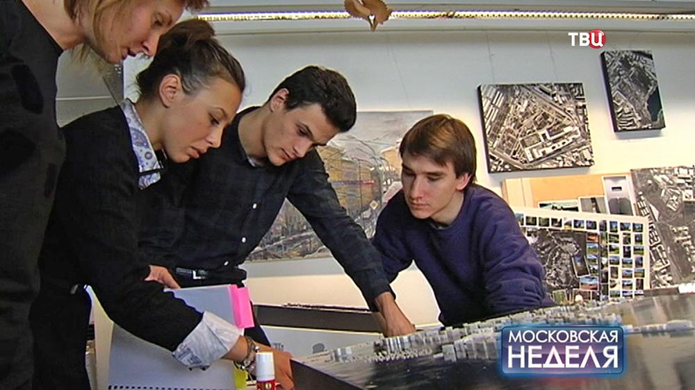 Участники конкурса на концепцию развития Москвы-реки
