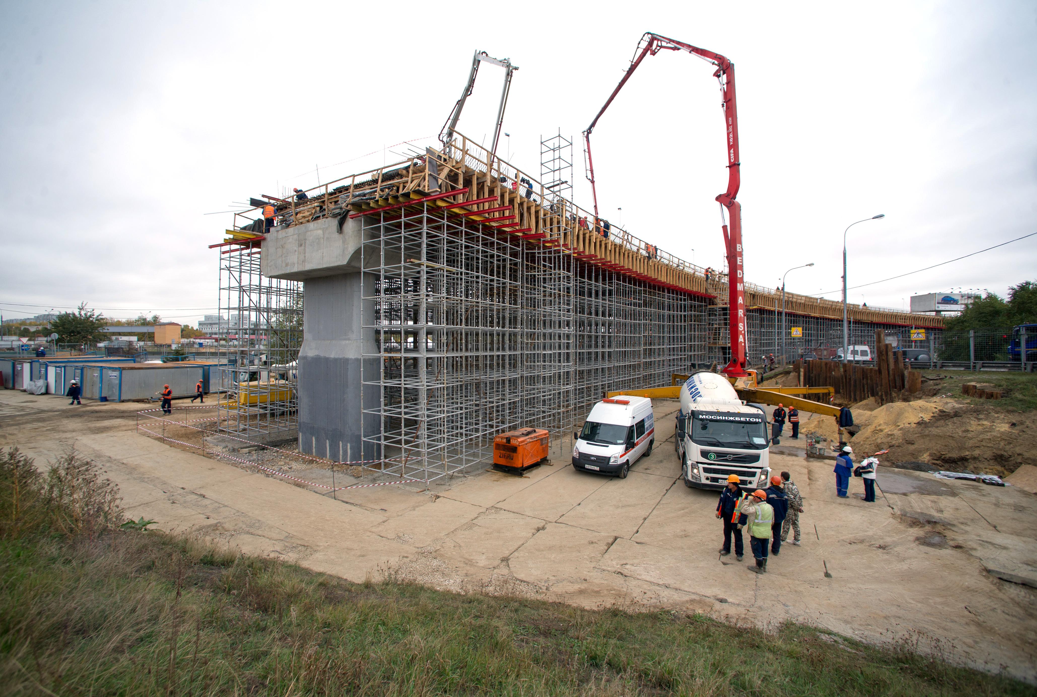Реконструкция развязки Каширского шоссе