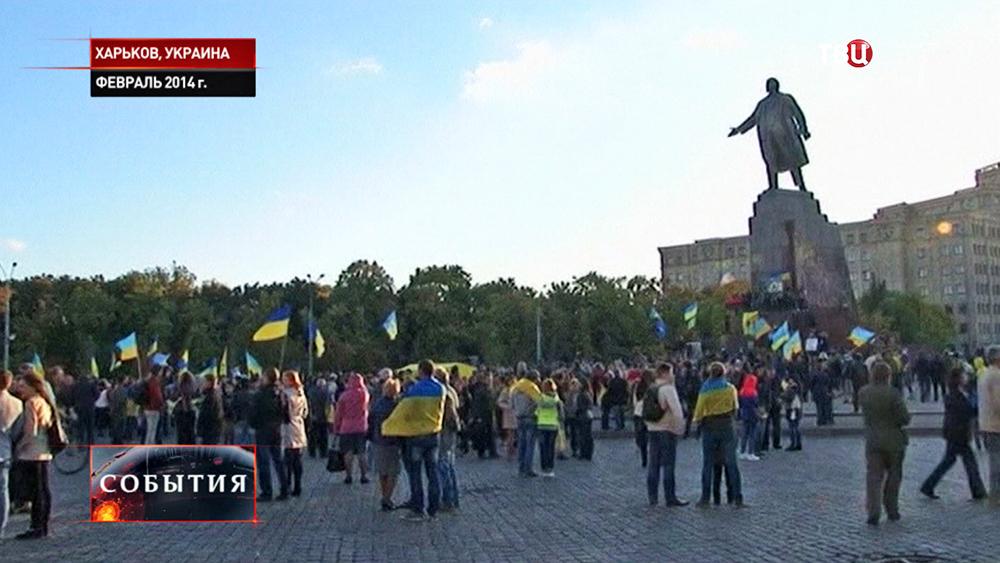 Памятнику Ленину в Харькове