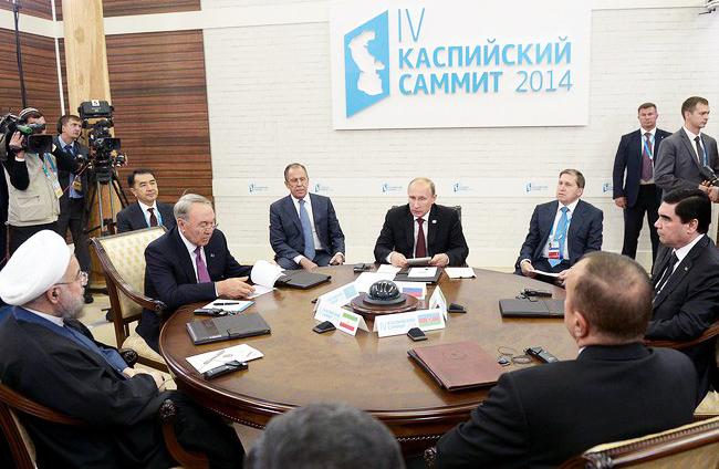 Каспийский саммит в Астрахани