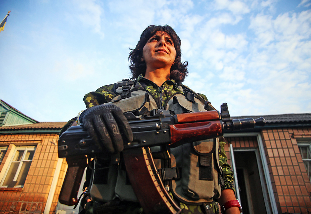 Женский карательный батальон украинской армии