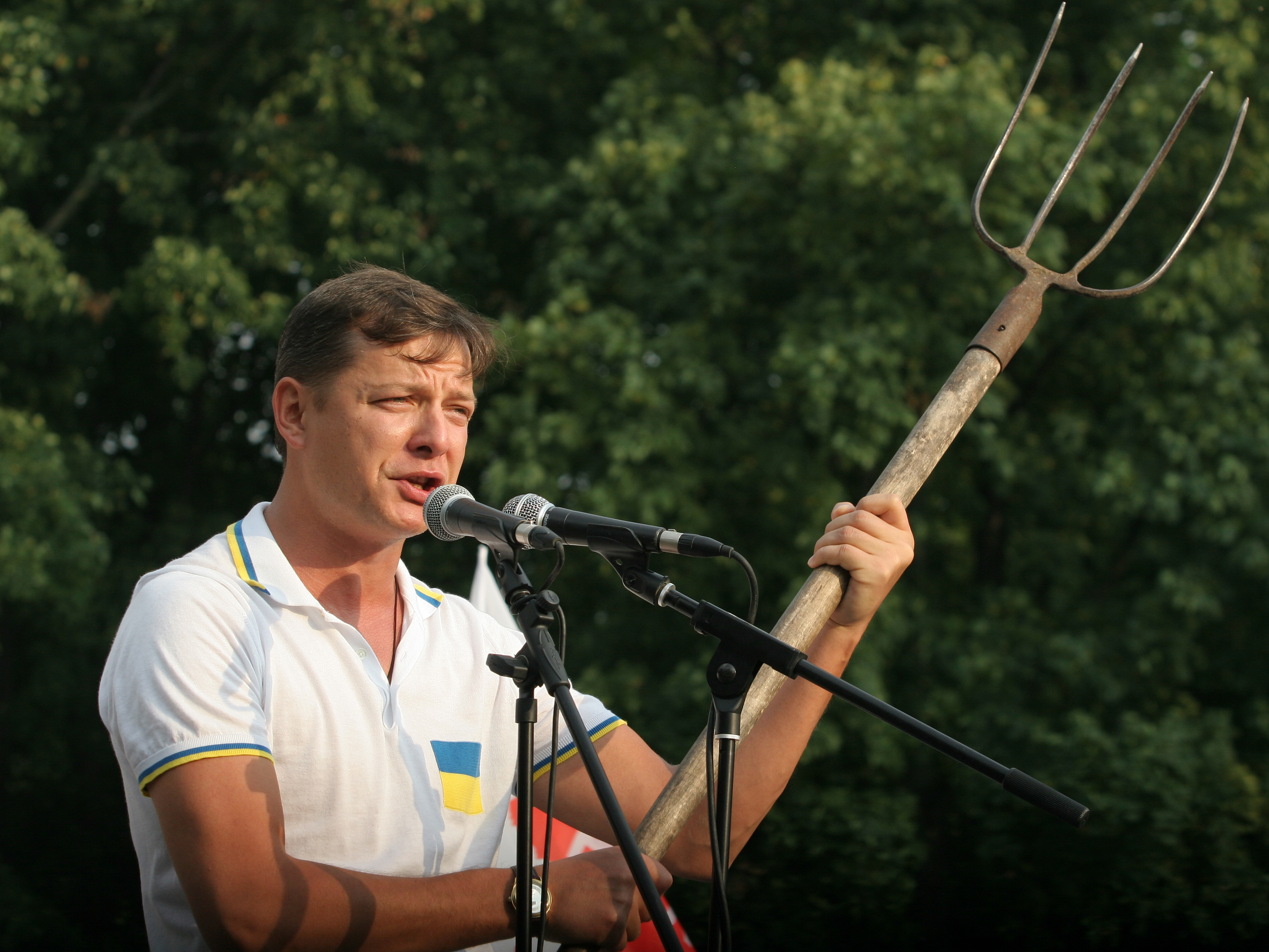Депутат Верховной Рады Украины Олег Ляшко