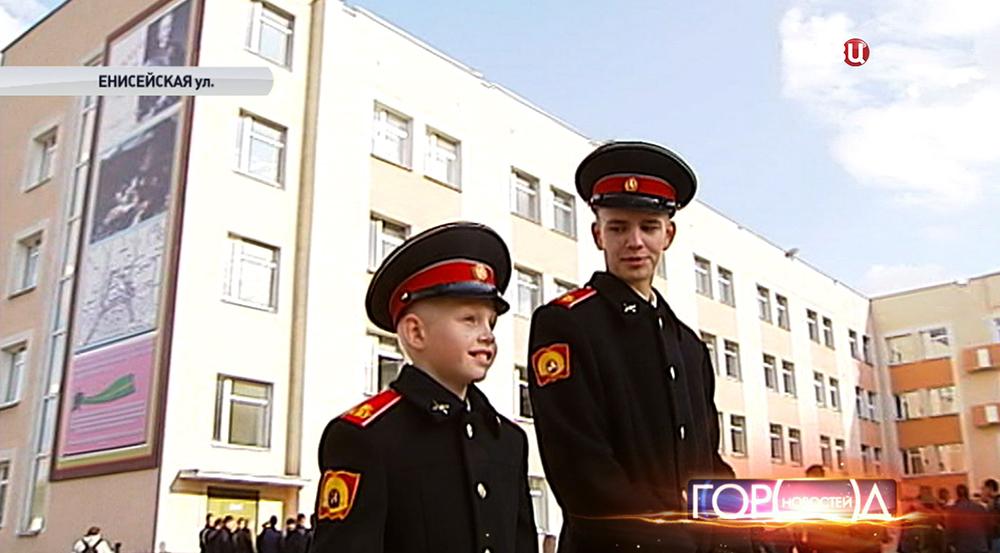 Кадеты суворовского училища