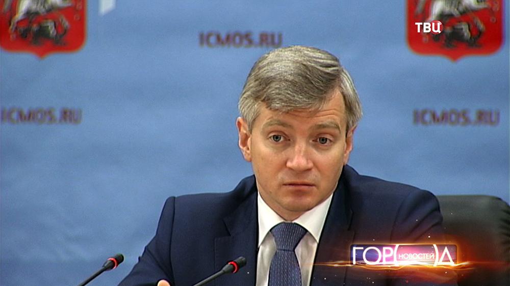 Александр Кибовский, министр Правительства Москвы, руководитель Департамента культурного наследия города Москвы