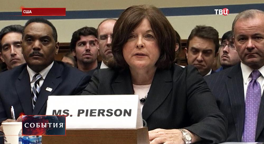 Джулия Пирсон, первая женщина, возглавившая охрану президента