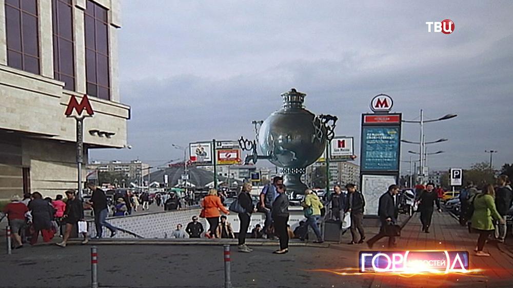 """Проект вестибюля станции метро """"Тульская"""""""