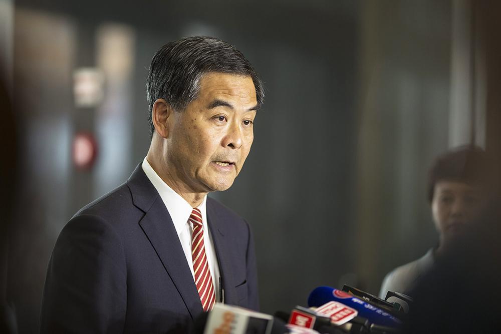 Глава администрации Гонконга Лян Чженьин