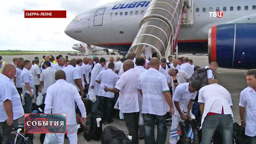 В Сьера-Леоне прибыли медики