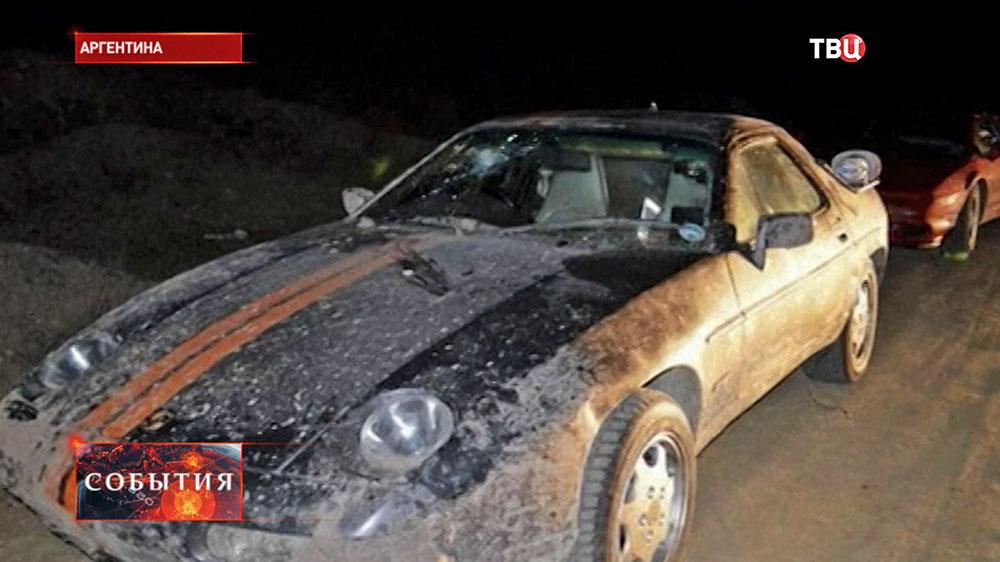 Нападение на автомобиль съемочной группы Top Gear В Аргентине