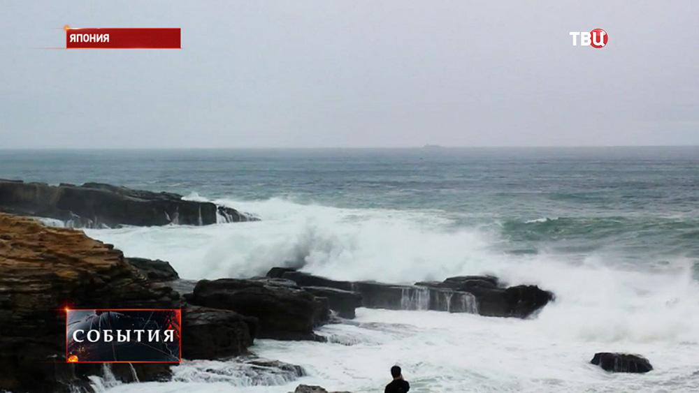 Тайфун в Японии