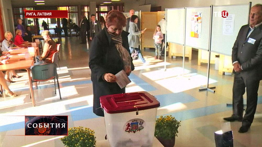 Выборы в Латвии