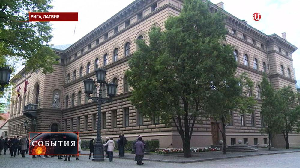 Здание парламента Латвии