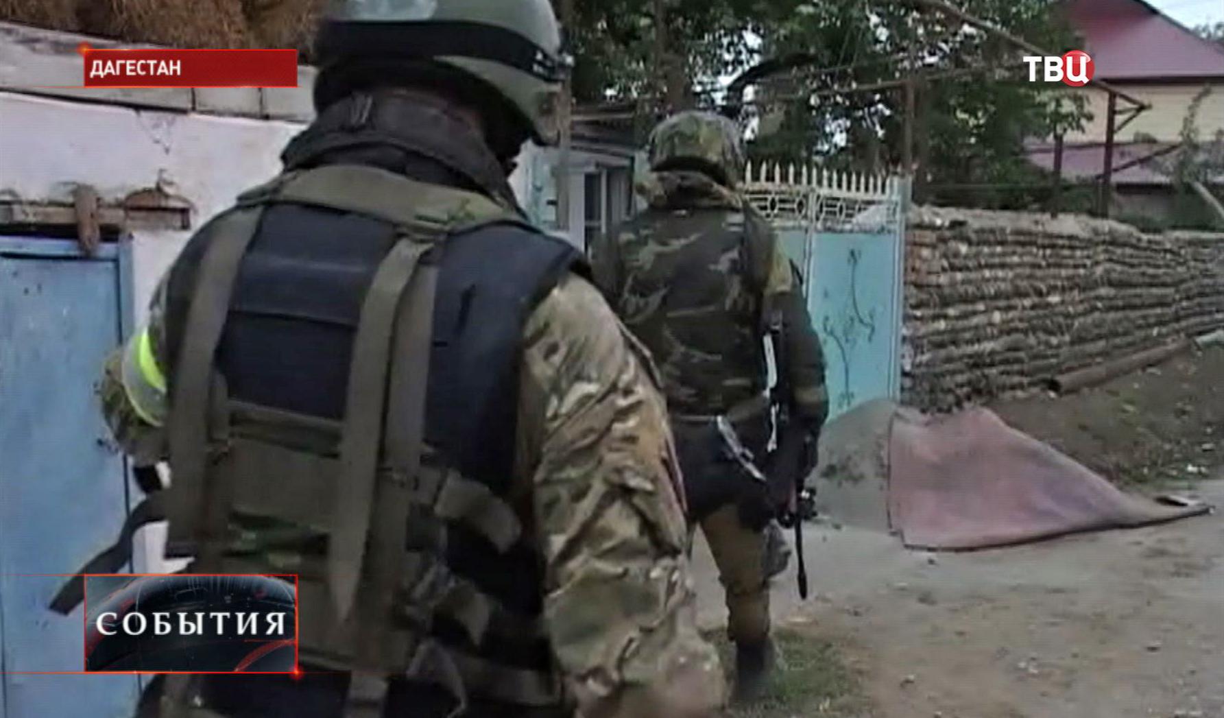 Военные в Дагестане