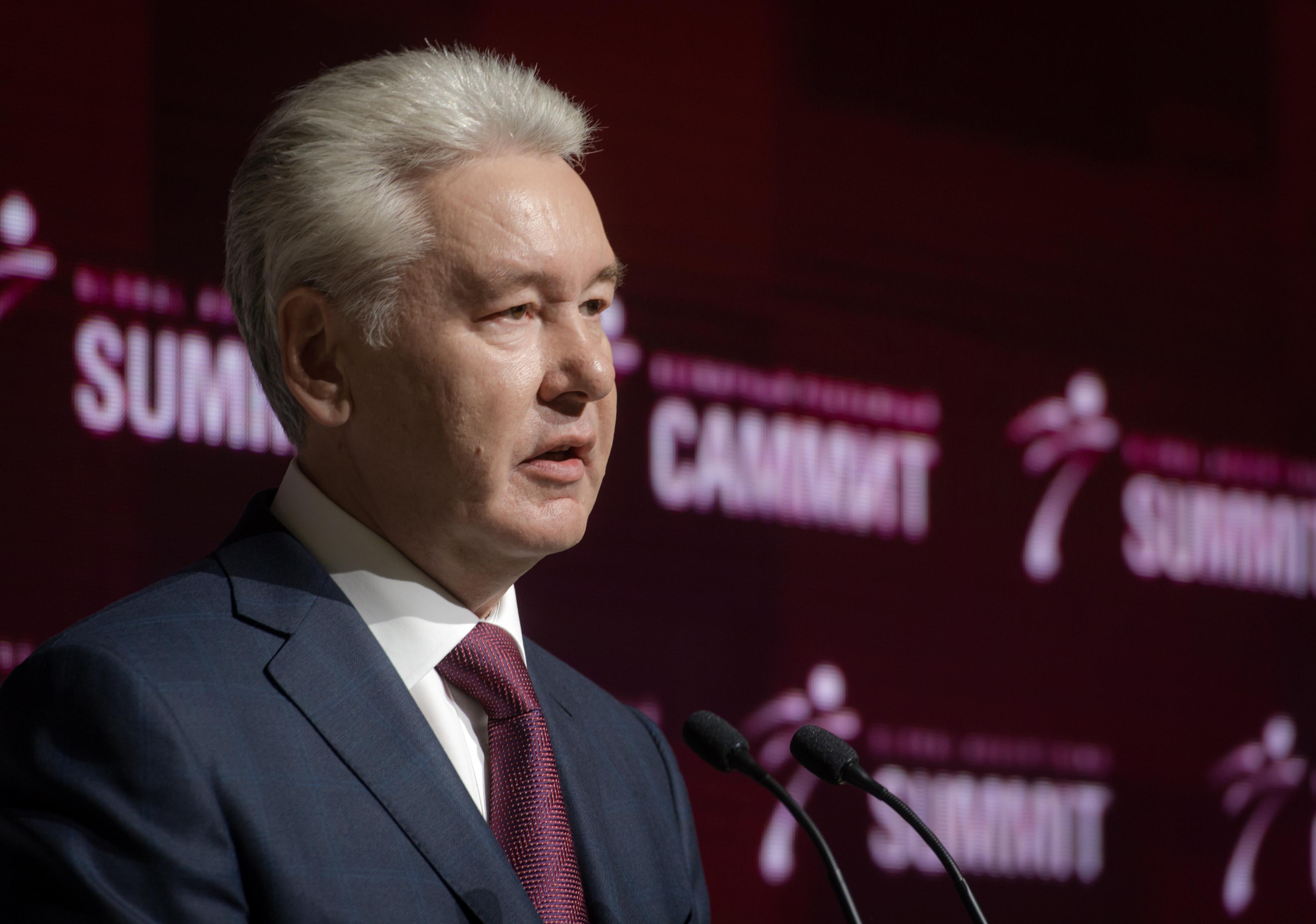 Сергей Собянин на открытии Всемирного рекламного саммита