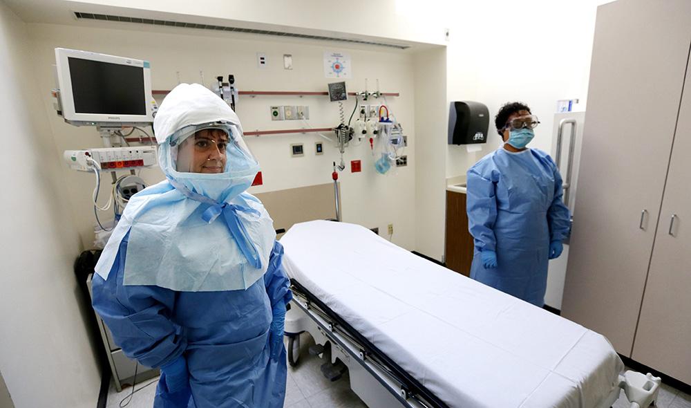 Подготовка к возможному распространению лихорадки Эбола