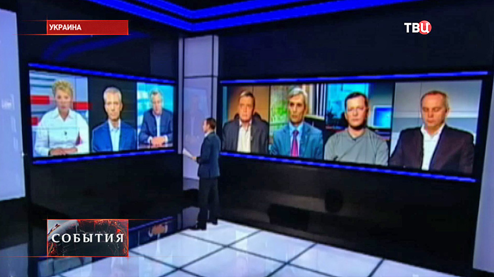 Предвыборные теледебаты на Украине
