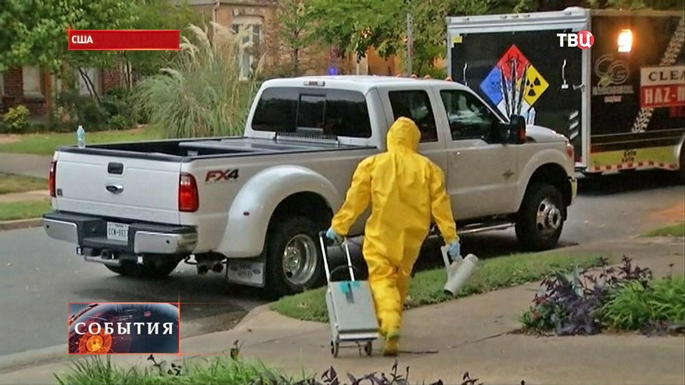 Меры предотвращения распространения лихорадки Эбола в США