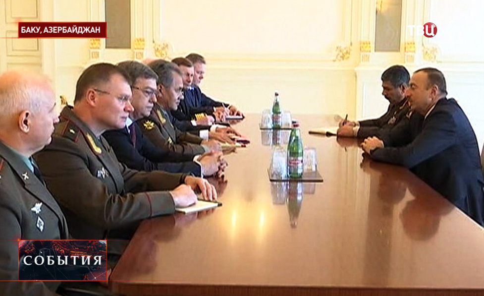 Переговоры о совместных военно-морских учениях России и Азербайджана
