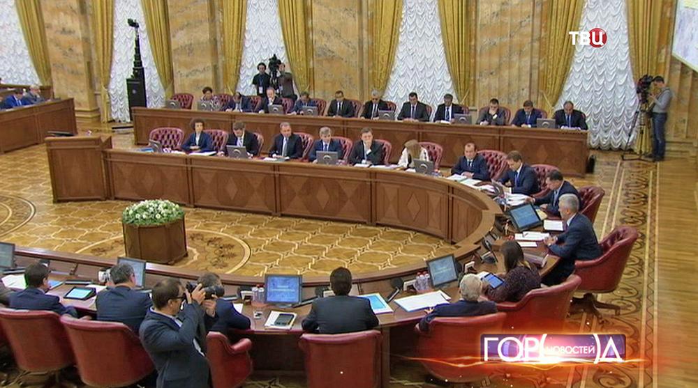 Заседание в мэрии Москвы
