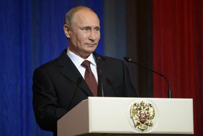 Владимир Путин принял участие в торжественном вечере по случаю 70-летия МГИМО