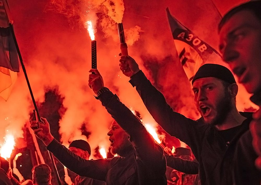 Митинг украинских националистов в Киеве