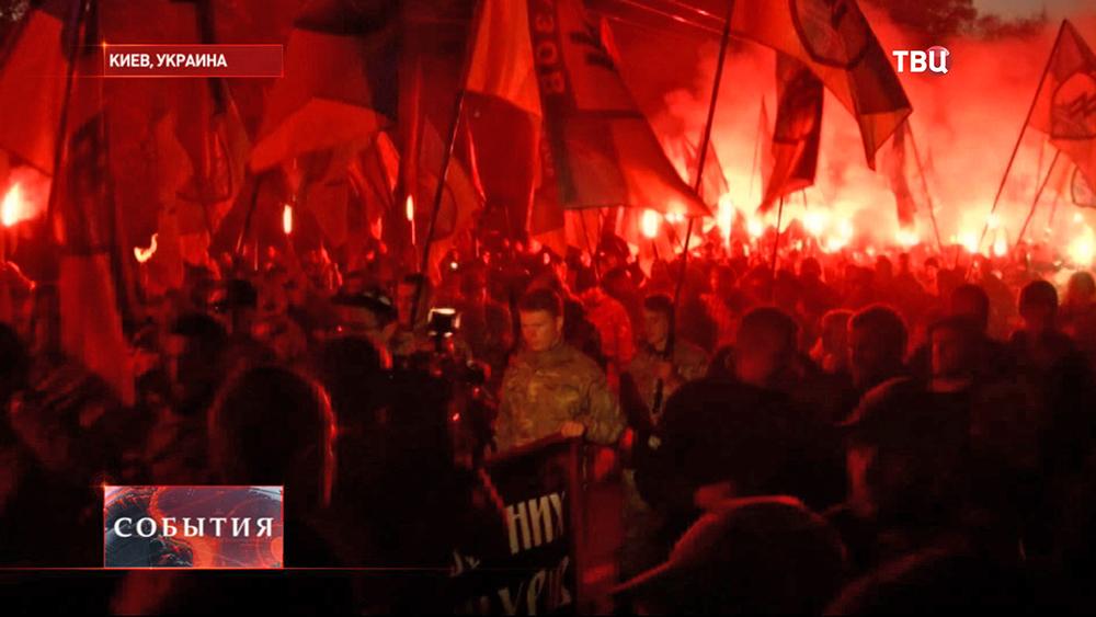 Марш националистов в честь годовщины УПА
