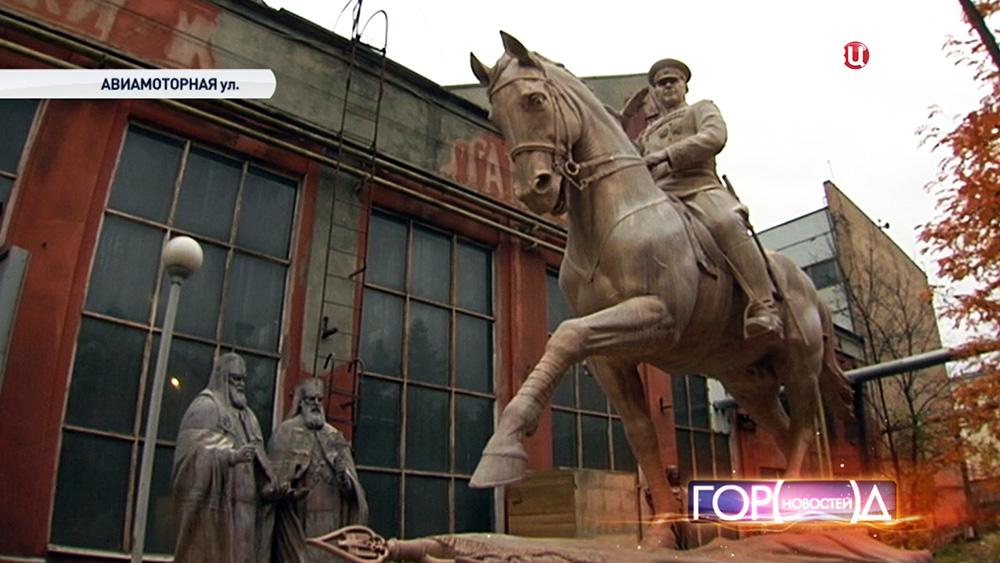 Новый памятник маршалу Жукову