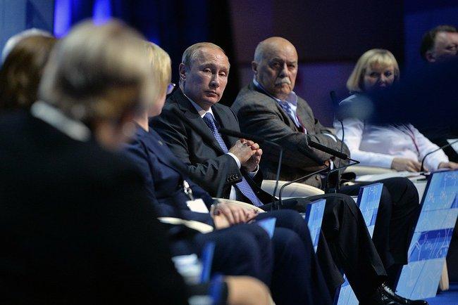 Владимир Путин на встрече с ОНФ