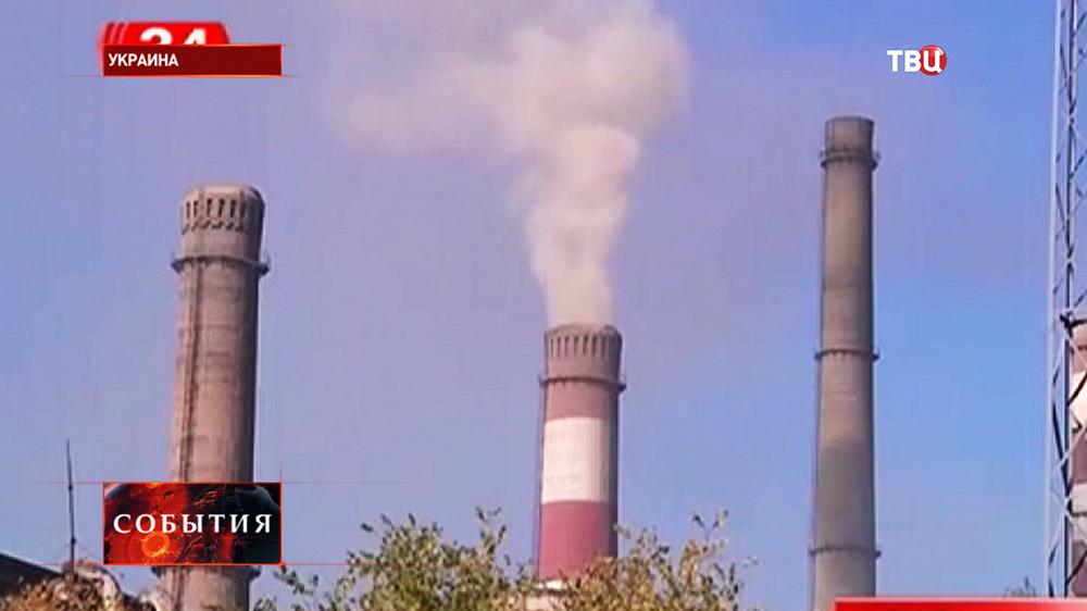 Заводские трубы на Украине