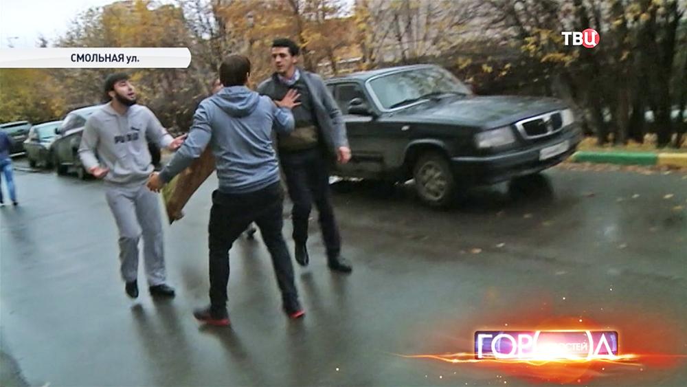 Нападение на съёмочную группу