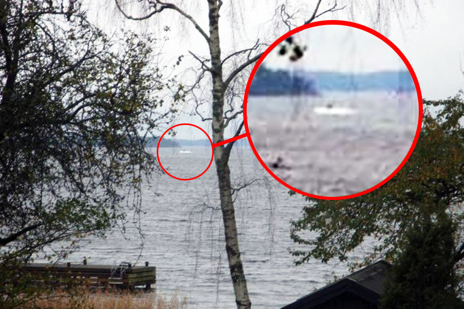 Подводная лодка в Швеции