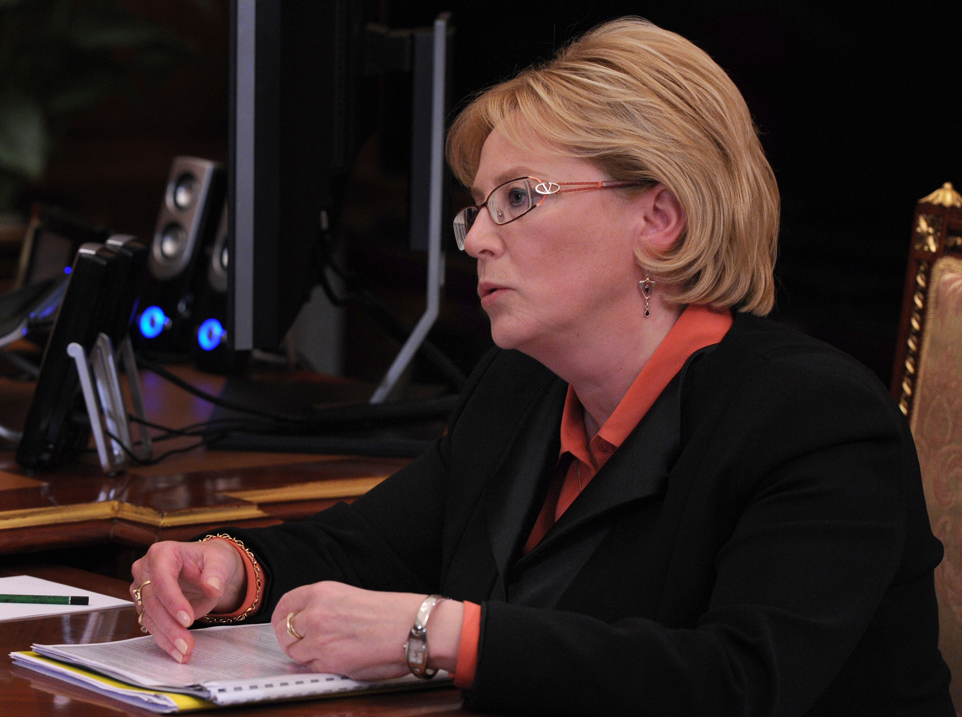 Министр здравоохранения РФ В.Скворцова