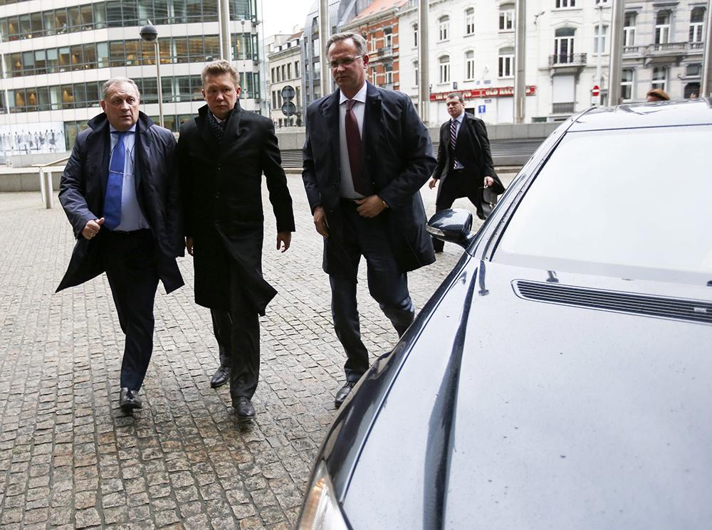 """Глава """"Газпрома"""" Алексей Миллер прибыл в Брюссель на переговоры по газовому вопроссу"""