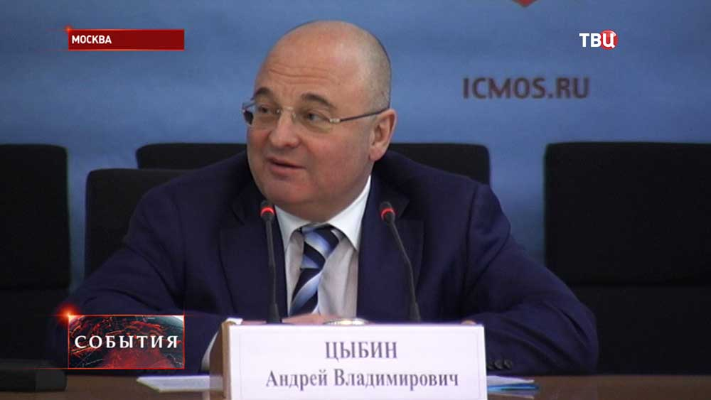 Руководитель департамента ЖКХ и благоустройства г. Москвы Андрей Цыбин