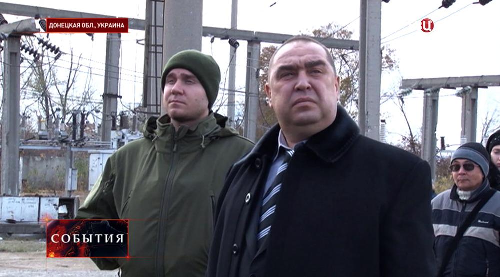 Премьер-министр ЛНР Игорь Плотницкий