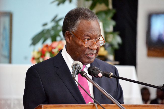 Президент Замбии Майкл Чилуфья Сата