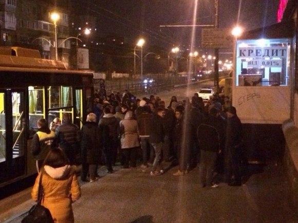 Митинг жителей Киева