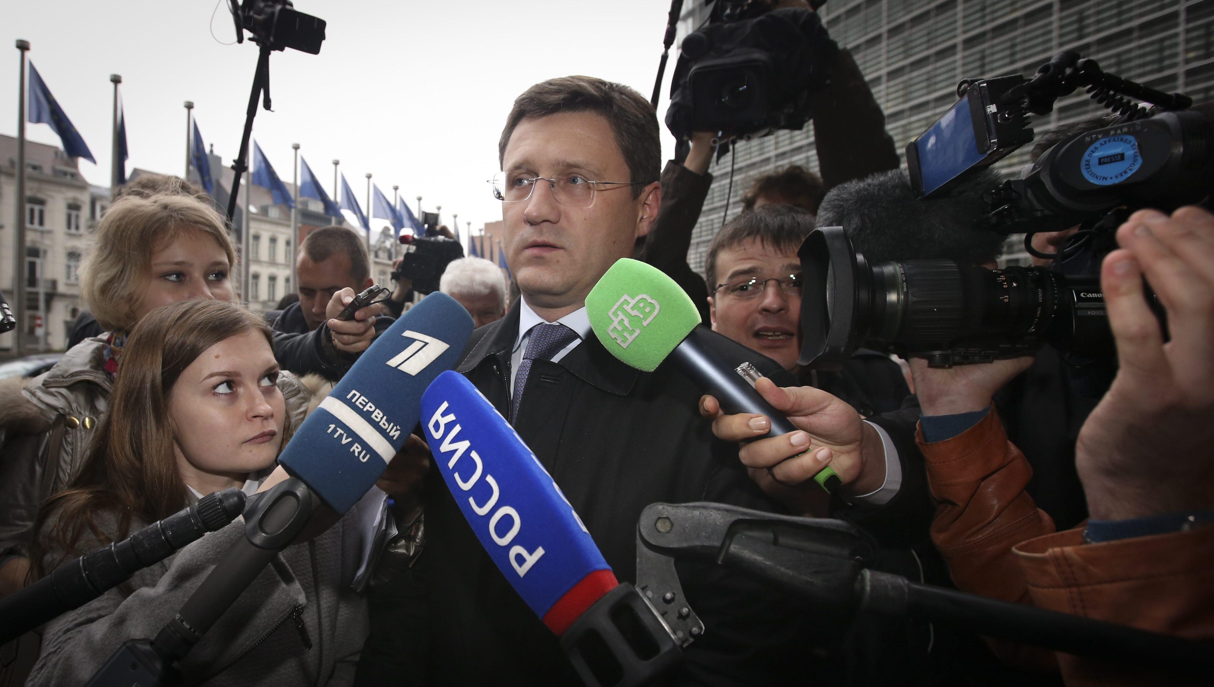 Трехсторонние переговоры по вопросу поставок российского газа на Украину прошли в Брюсселе