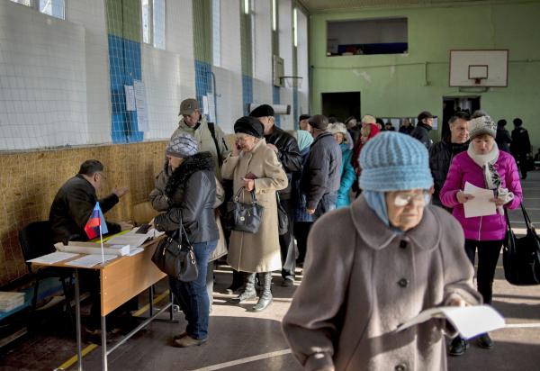Выборы в ЛНР