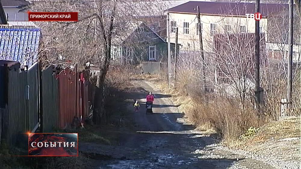Посёлок в Приморском крае