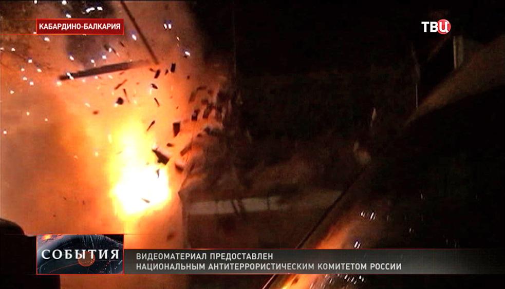 Спецоперация в Кабардино-Балкарии
