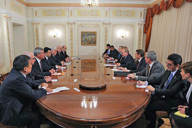 Встреча членов Совета Парламентской Ассамблеи ОДКБ