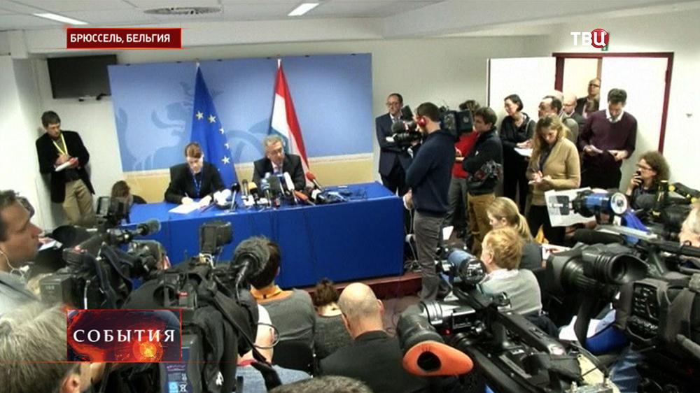 Пресс-конференция представителя Люксембурга