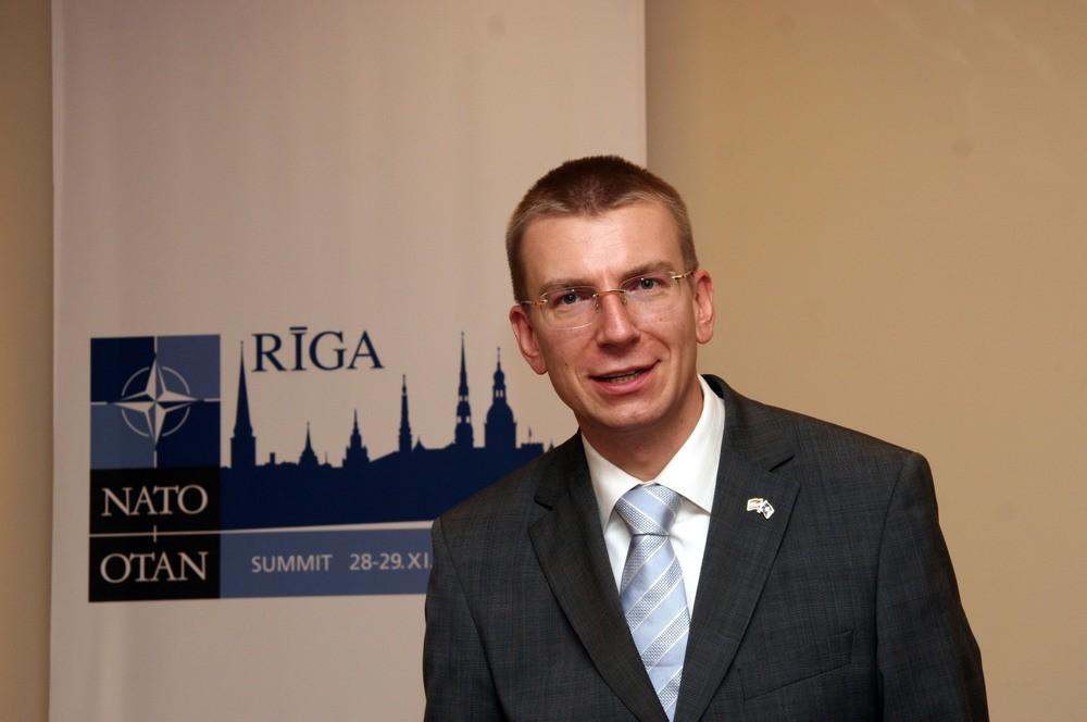 Министр иностранных дел Латвии Эдгарс Ринкевич
