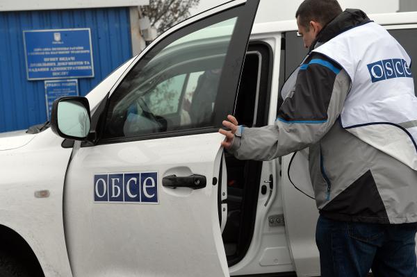 Наблюдатели ОБСЕ на Украине