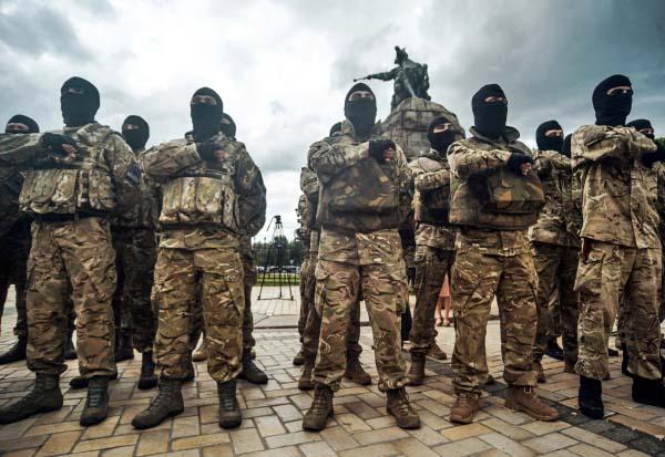 "Карательный украинский батальон ""Айдар"""